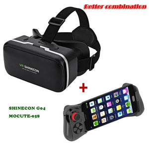 VR SHINECON G04 for 4.7-6.0 inches Android iOS Smart Phones