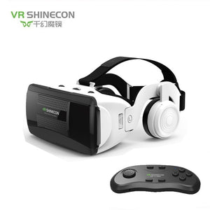 SHINECON G06EB new 3D VR Glasses Virtual Reality Headset Len For iPhone Android Smartphone