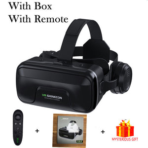 VR Shinecon 10.0 Casque Virtual Reality Headset For Smart phone Goggles Video Game Viar Binoculars