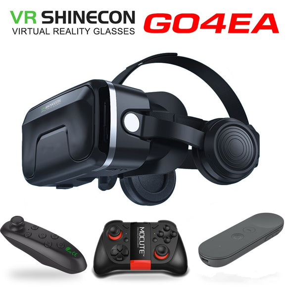 NEW VR shinecon 6.0 headset upgrade version headset helmets Game box for Smartphones