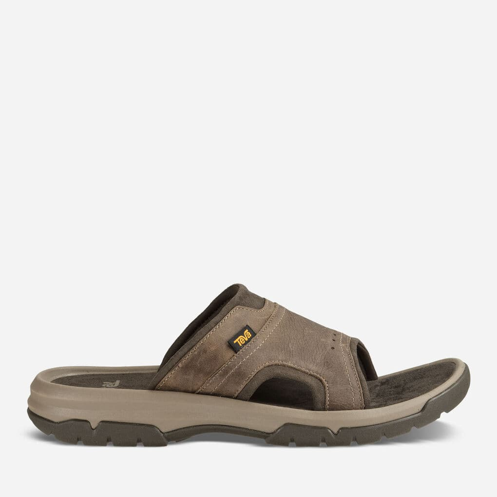 Teva Mens Langdon Slide - Walnut