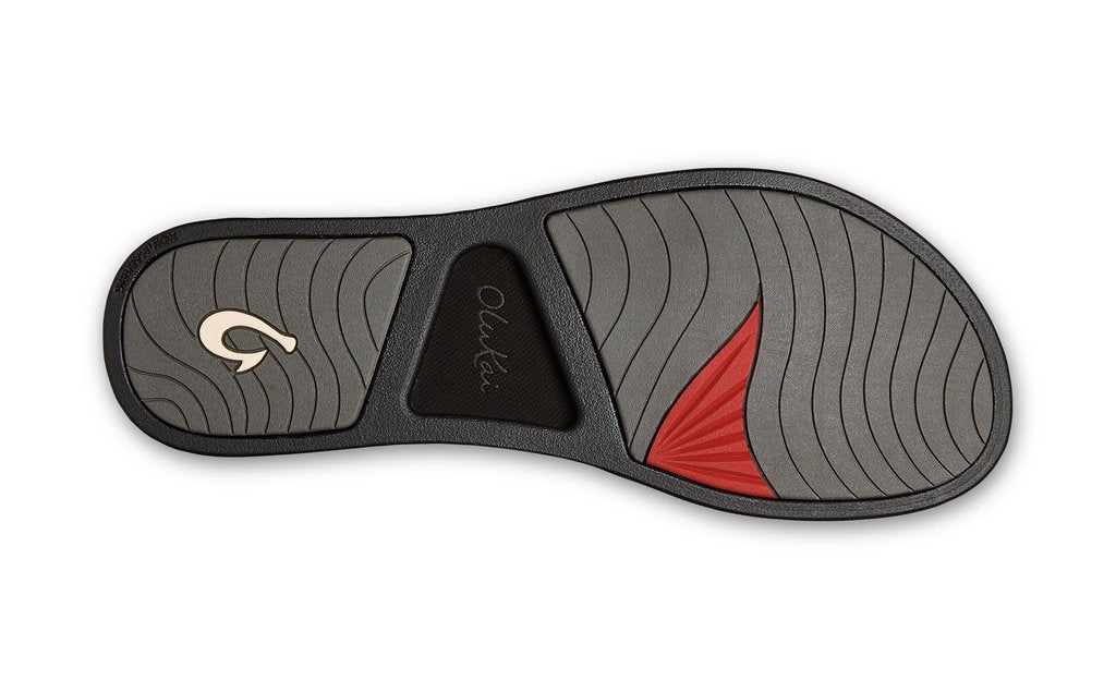 Olukai Pi'o Lua Wedge - Black