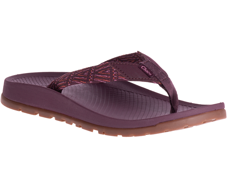 Chaco Womens Lowdown Flip - Fig