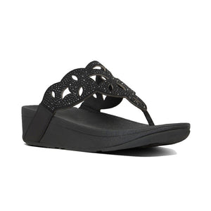 Fit Flop Elora Crystal Thong Sandal - Black
