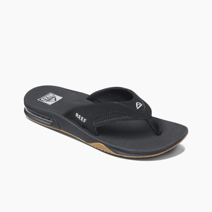 Reef Mens Fanning - Black/Silver