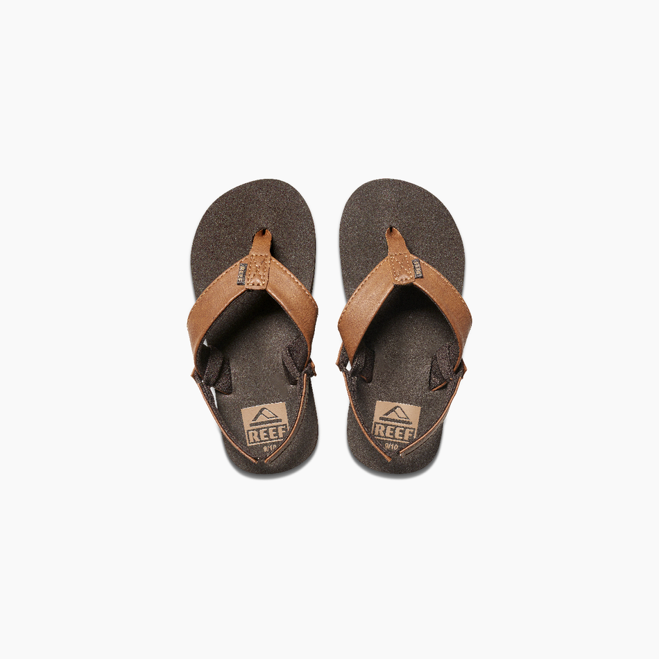 Reef Little Twin Pin - Brown
