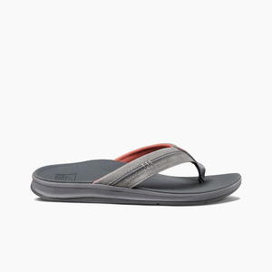 Reef Mens Ortho Bounce Coast - Charcoal/Rust