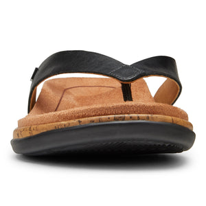 Vionic Daniela Leather Sandal - Black