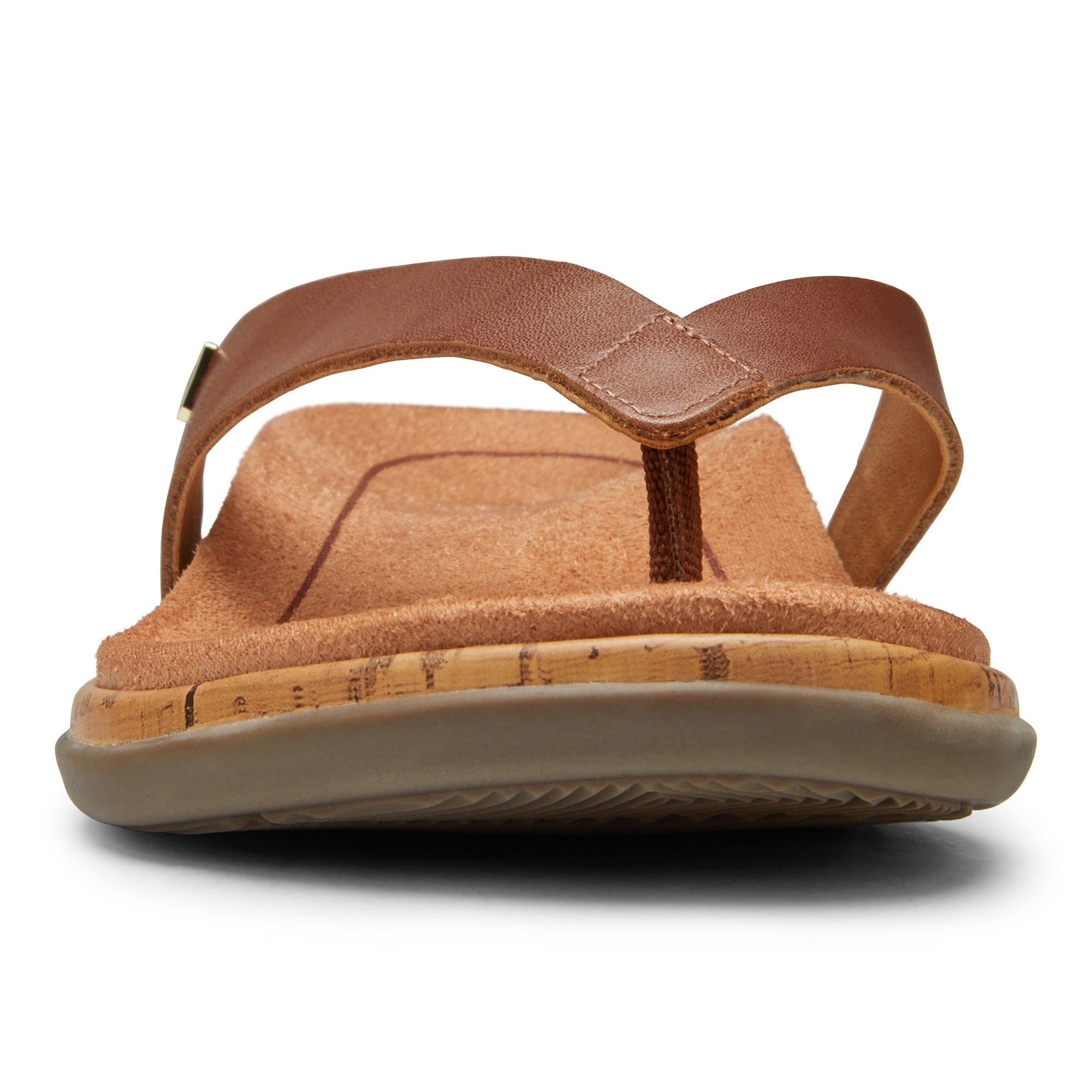 Vionic Daniela Leather Sandal - Cinnamon