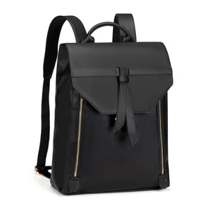Estarer PU Leather Laptop Backpack