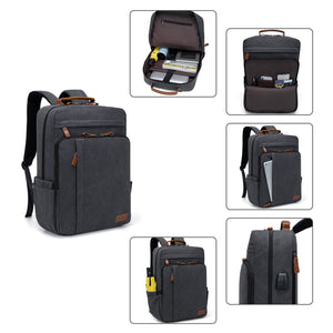 Estarer Canvas Laptop Backpack