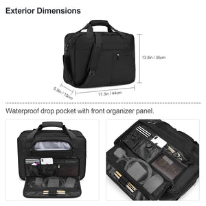 Estarer Expandable Business Briefcase