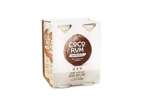 Coco Rum Original (4 x 250ml Cans)