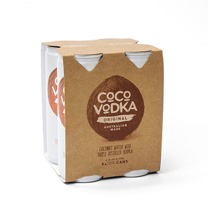 Coco Vodka Original (4 x 250ml Cans)