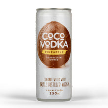 Coco Vodka Pineapple (4 x 250ml Cans)