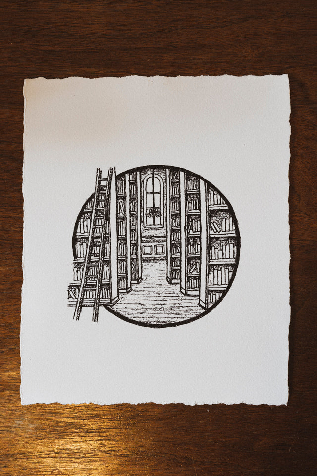 The Library - 8x10