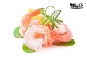 Jumbo Prawns - Peeled, Cleaned,Deveined Large 500g - MINGLO'S
