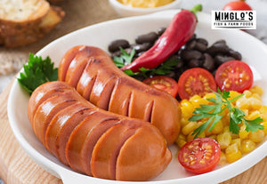 Pork Spicy Cocktail Sausage 500g - MINGLO'S