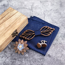 Load image into Gallery viewer, Butterfly Designer Men Gift Set Accessories With Cufflinks