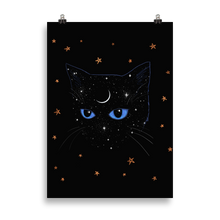 Load image into Gallery viewer, Indigo Cat [Print]