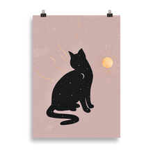 Load image into Gallery viewer, Day & Night Cat [Print]