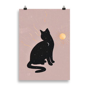 Day & Night Cat [Print]