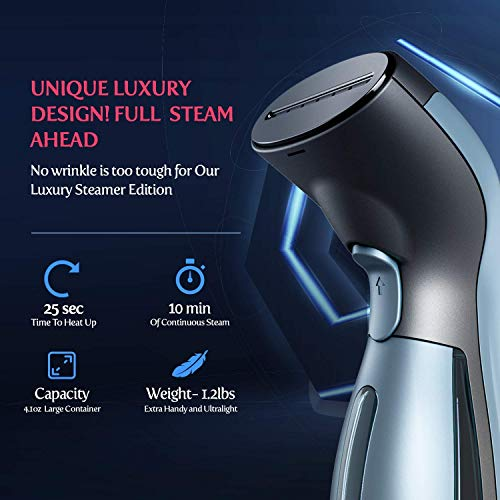 Steamer for Clothes [Luxury Edition] Powerful Dry Steam-I-STEAM