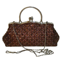 An Exquisite Beaded Evening Bag, Vintage-inspired Cluth