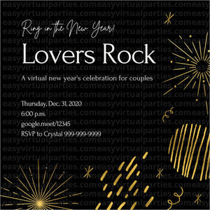 Virtual New Years Eve Party: Lovers Rock Couples Night
