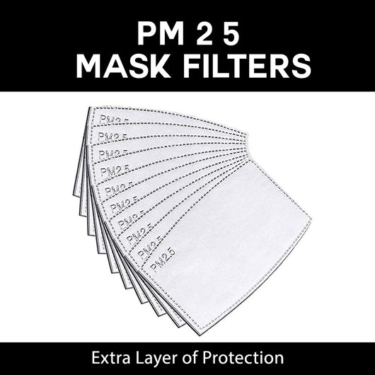 KN95 PM2.5 Filters Pack of 10 (Non Medical)