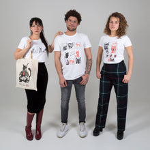 Afbeelding in Gallery-weergave laden, Neko finds love <3 tote