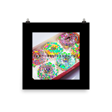 Load image into Gallery viewer, Glitch Donuts Poster