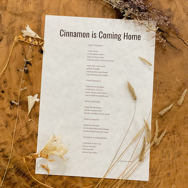 Cinnamon is Coming Home