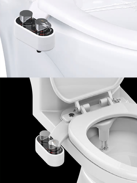 seat bidet self cleaning