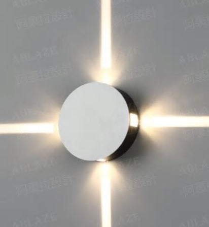 Feimefeiyou applique murale luminaire round square wall lamp bedroom light corridor staircase hotel LED aisle indoor lighting - Baths Planet