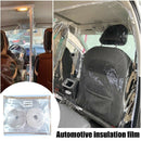 Uber taxi cab Isolation Protective Cover block spread of viruses Transparent Film Plastic Anti-Fog Full Surround Protective Cover Net Cab - Baths Planet