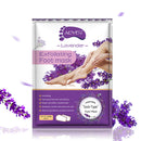 2pcs/bag Lavender Moisturizing Foot Mask Foot Film Exfoliation White Remove Dead Skin Mask Foot Care Tool Rose Chamomile TSLM2 - Baths Planet