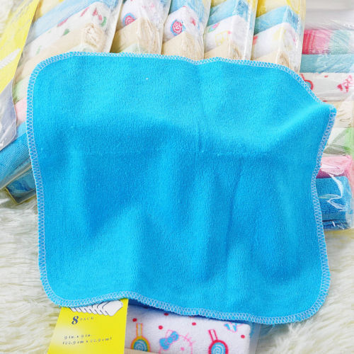 New 2020 8pcs/Pack Soft Baby Bath Towel Cotton Infant Newborn Washcloth Feeding Wipe Kid Face Cloth Children Handkerchief - Baths Planet