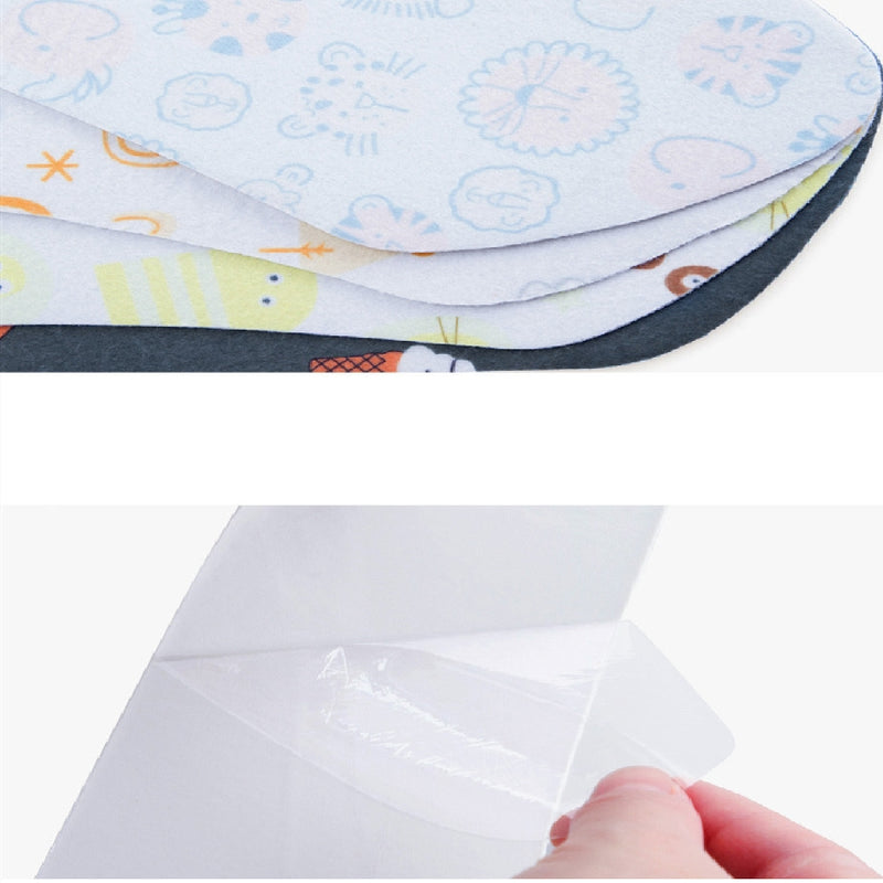 1 pair Toilet Seat Cover Soft WC Paste Toilet Seat Pad Washable Bathroom Warmer Seat Lid Cover Pad Closestool Sticky Seat mat - Baths Planet