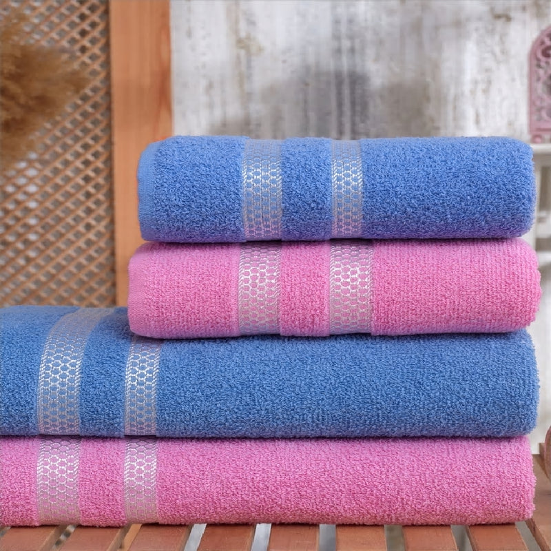 12pcs Turkish Towel Set Bath Towel | Hand Towel Set | Hotel & Spa Quality, quick Dry Highly Absorbent Turkish Towels from Turkey - Baths Planet
