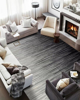 Grey Ripple Rug Collection - NIKIOSK
