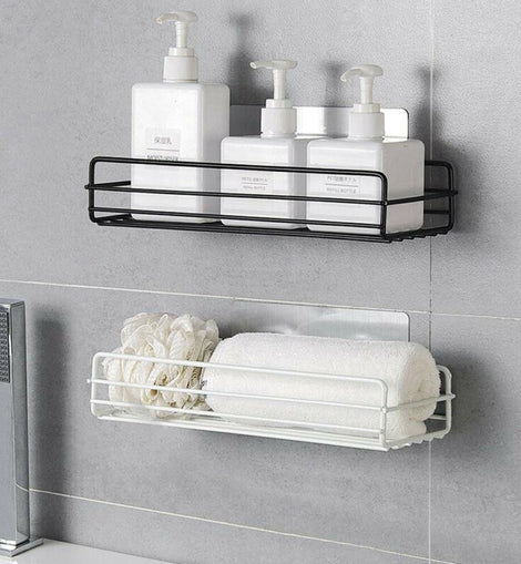 Stainless Steel Bathroom Container Organizer - NIKIOSK