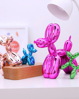 Abstract Balloon Dog Sculpture - NIKIOSK