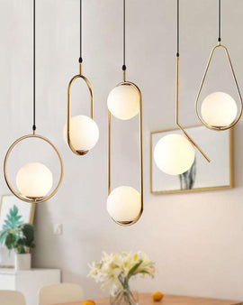 Hoop Pendant Light - NIKIOSK