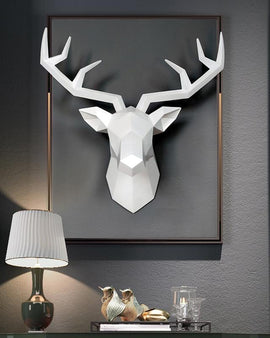 Abstract Animal Head Wall Decor - NIKIOSK