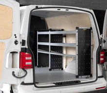 Load image into Gallery viewer, Full Aluminium Trade Van Racking Kit - LEVC VN5