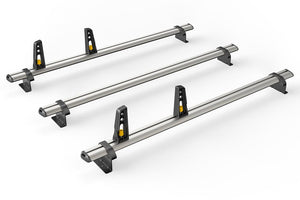 3x ULTI Bars Aluminium Roof Bars Ford Transit Custom 2013 - Present