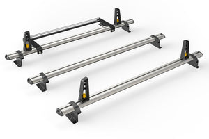 3x ULTI Bars Aluminium Roof Bars Ford Transit Connect 2014 - Present