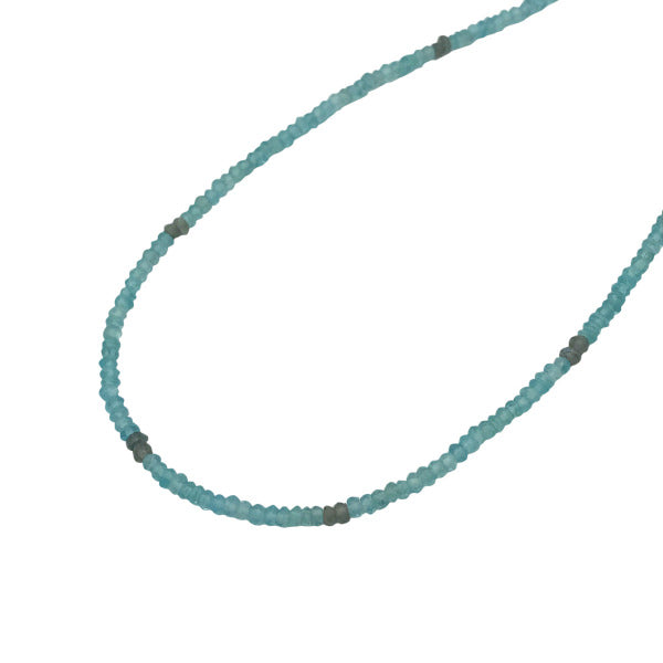 Gemstone Beaded Necklaces apatite and labradorite adjustable length