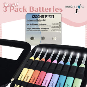 Load image into Gallery viewer, Bonus 3 Pack Batteries - Crochet Story